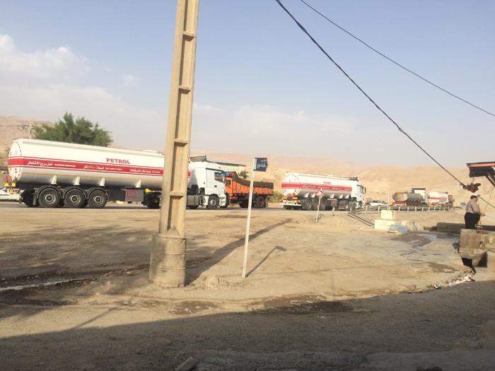 آسفالت شانه جاده دهستان پاعلم شهرستان پلدختر