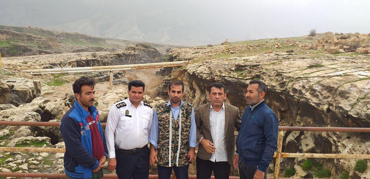 آماده باش حوزه مقاومت بسیج و دهداری دهستان پاعلم در سیل اخیر شهرستان پلدختر