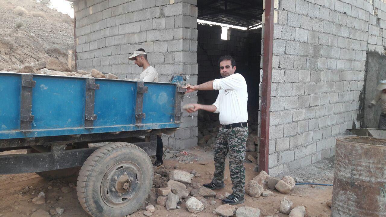 اردوی جهادی بسیجیان حوزه سلمان فارسی تابستان ۹۷