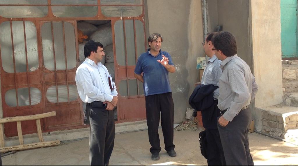 بازدید هیئتی از منابع طبیعی استان لرستان از شرکت پاعلم شهرستان پلدختر