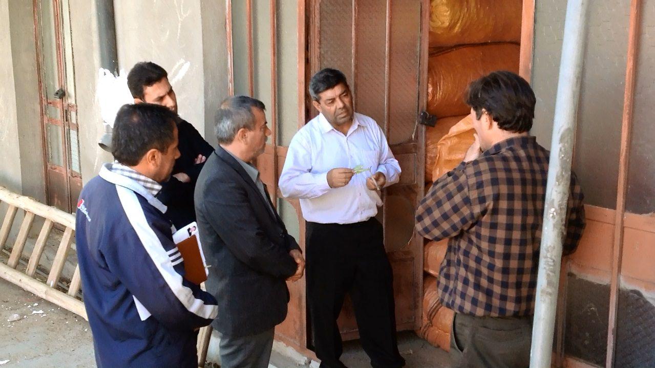 بازدید کارشناسان سازمان جنگل و مرتع و آبخیزداری کشور از شرکت پاعلم شهرستان پلدختر