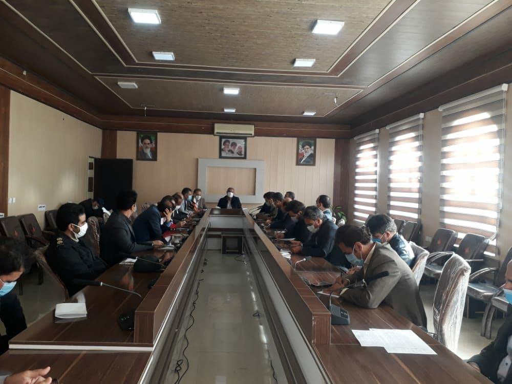 برگزاری جلسه ستاد مدیریت بحران شهرستان پلدختر