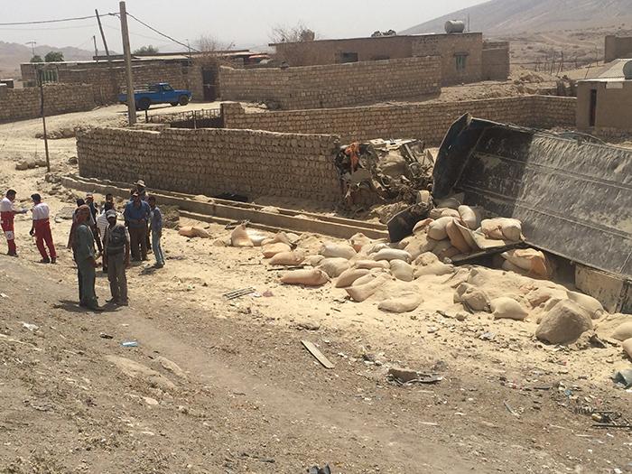 تصادف مرگبار در دهستان پاعلم شهرستان پلدختر
