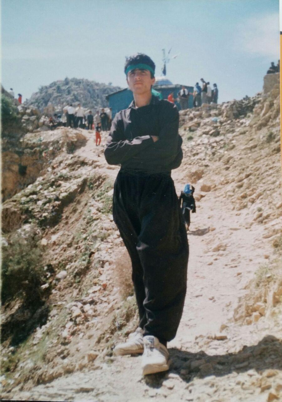 تصاویر نوستالژی از جاده و بارگاه قدیم امامزاده شاه احمد(ع) دهستان پاعلم شهرستان پلدختر