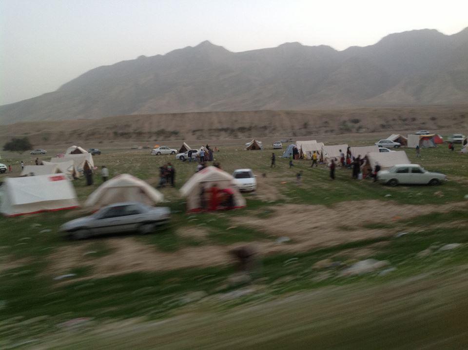 تفریگاه نوروزی دهستان پاعلم شهرستان پلدختر