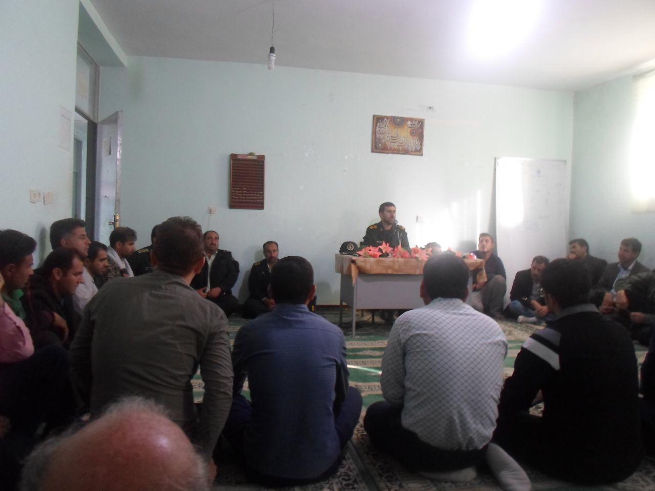 انتصاب حاج محسن نظری به عنوان فرماندهی حوزه سلمان فارسی پل تنگ (دهستان پاعلم شهرستان پلدختر)
