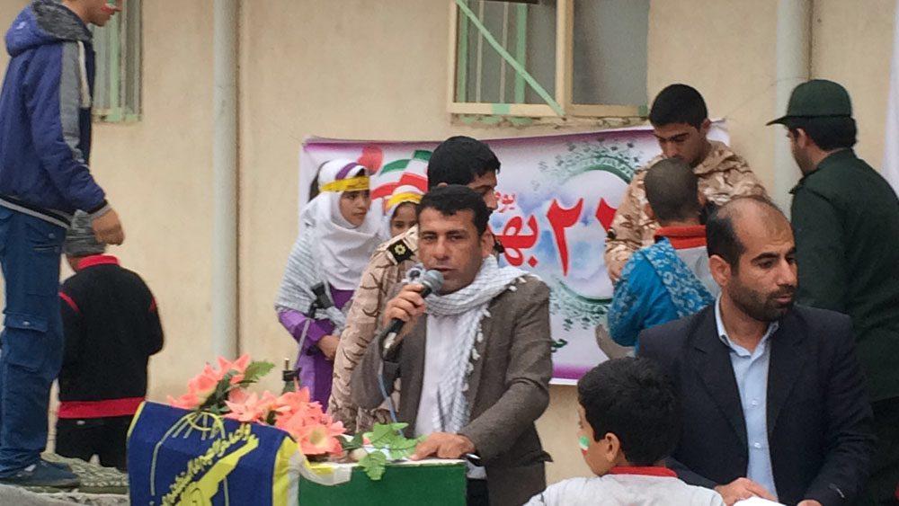راهپیمایی باشکوه ۲۲ بهمن ۱۳۹۳ مردم دهستان پاعلم شهرستان پلدختر