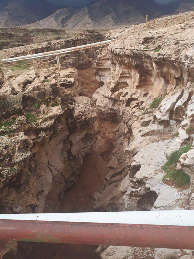 طغیان رودخانه سیمره در جنوب دهستان پاعلم و انسداد جاده