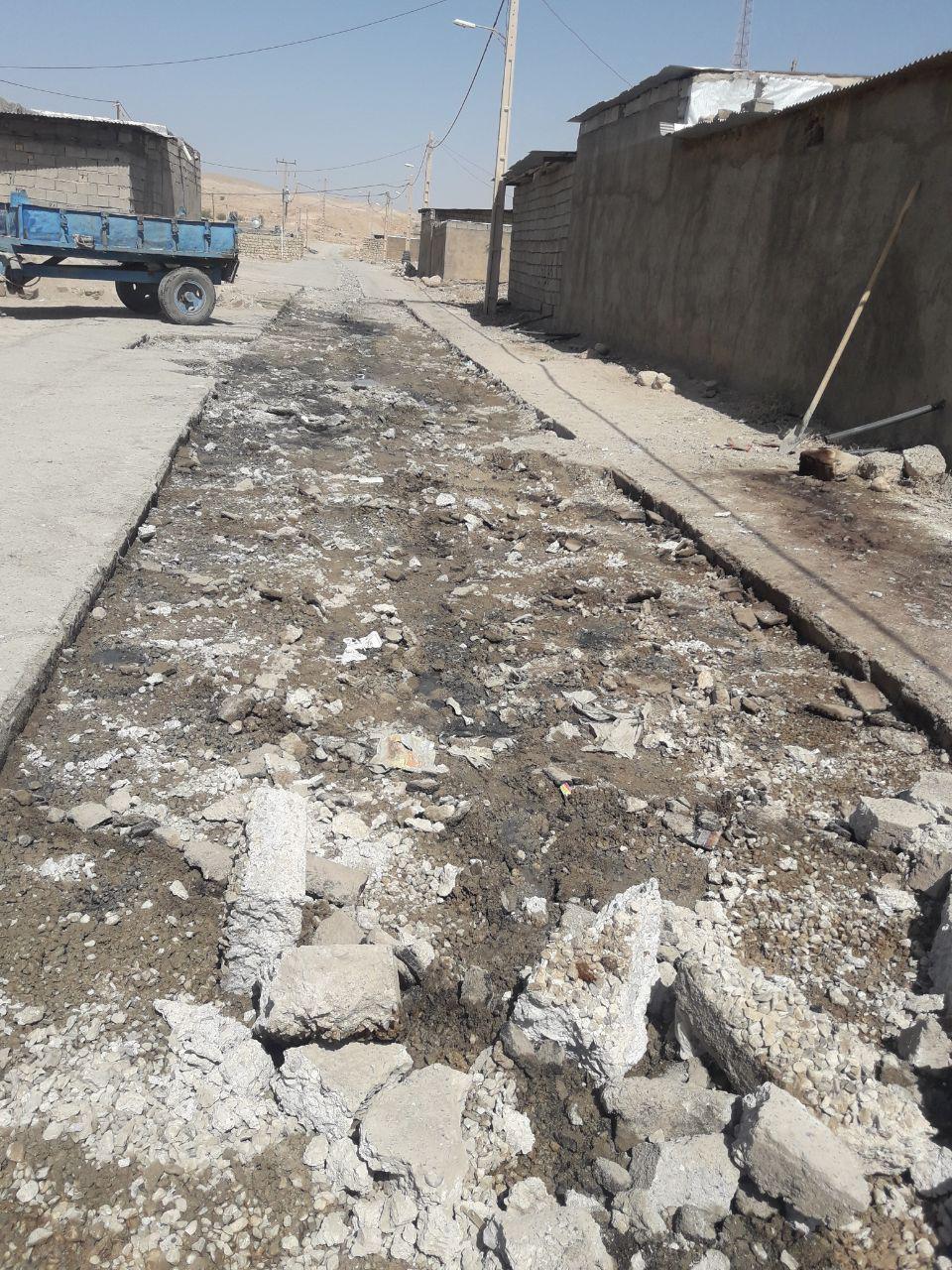 عملیات عمرانی دهستان پاعلم شهرستان پلدختر