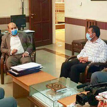تجلیل از حجت بساطی نظری، خبرنگار پایگاه خبری پاعلم به مناسبت هفته بهداشت