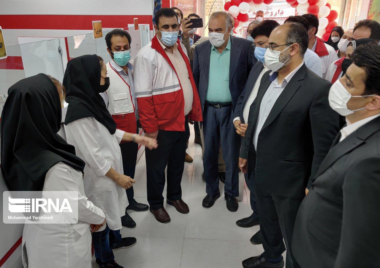 داروخانه هلال احمر در لرستان افتتاح شد