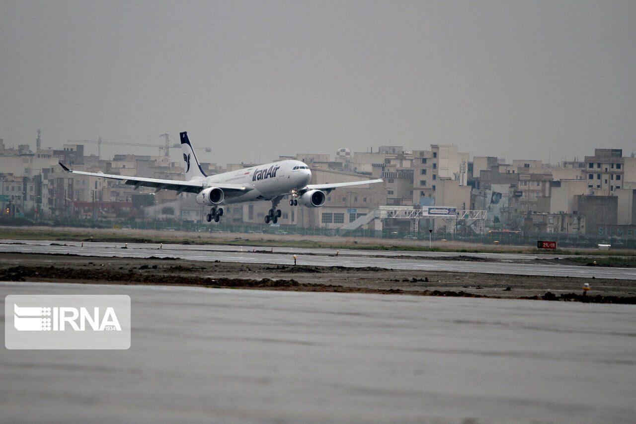 پروازهای فرودگاه خرم آباد کاهش یافت