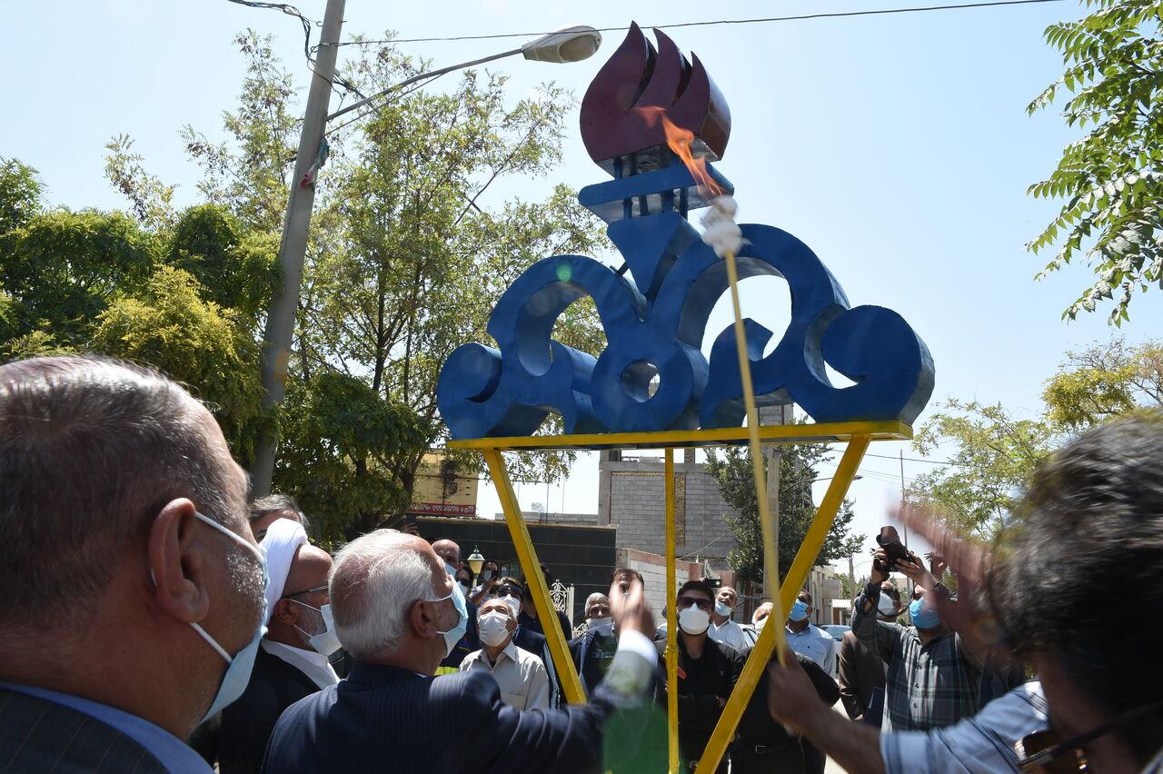 طرح گازرسانی به ۲۶ روستای چگنی لرستان افتتاح شد
