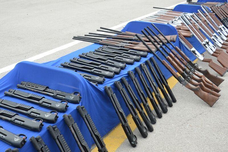 ۶۳ قبضه سلاح غیرمجاز در لرستان کشف شد